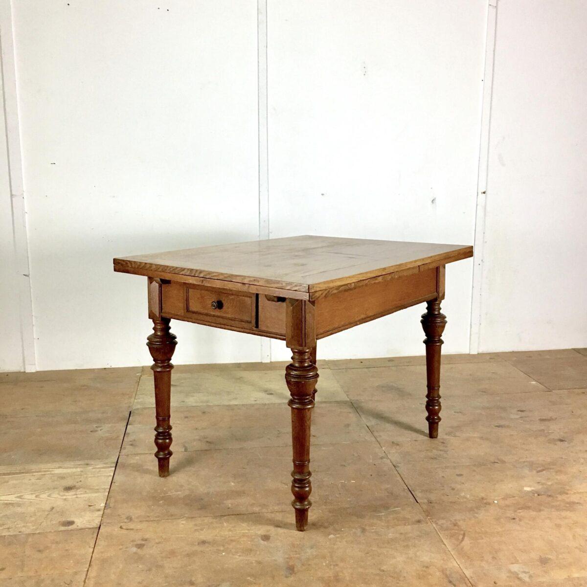 Antiker Eichentisch Esstisch ausziehbar Auszugtisch