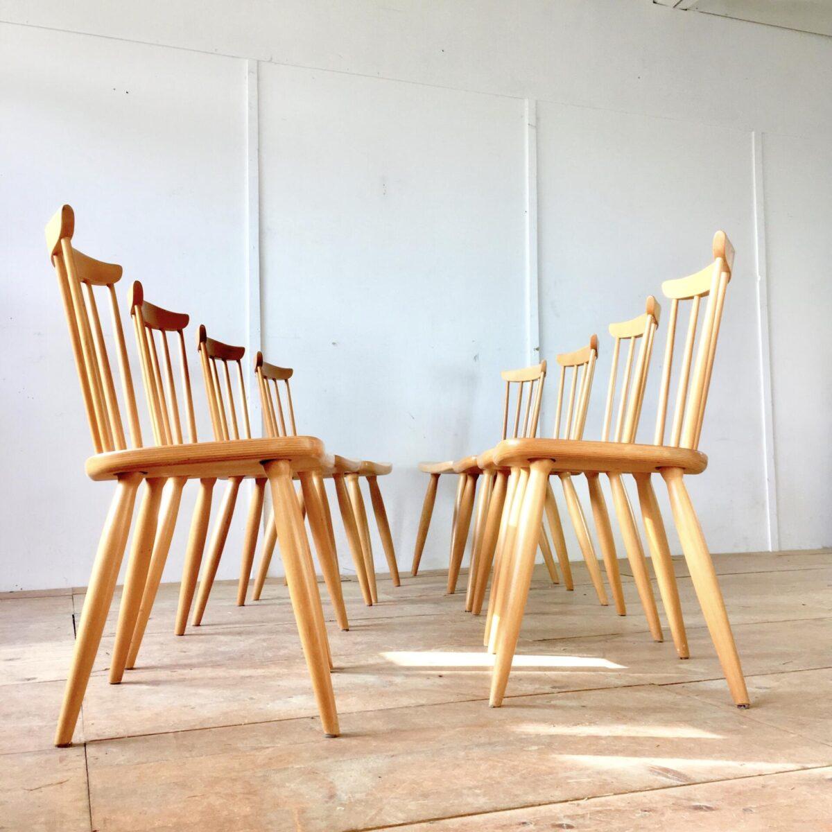 8 Esszimmer Stühle 70s Stäbli Stühle. Preis pro Stuhl.