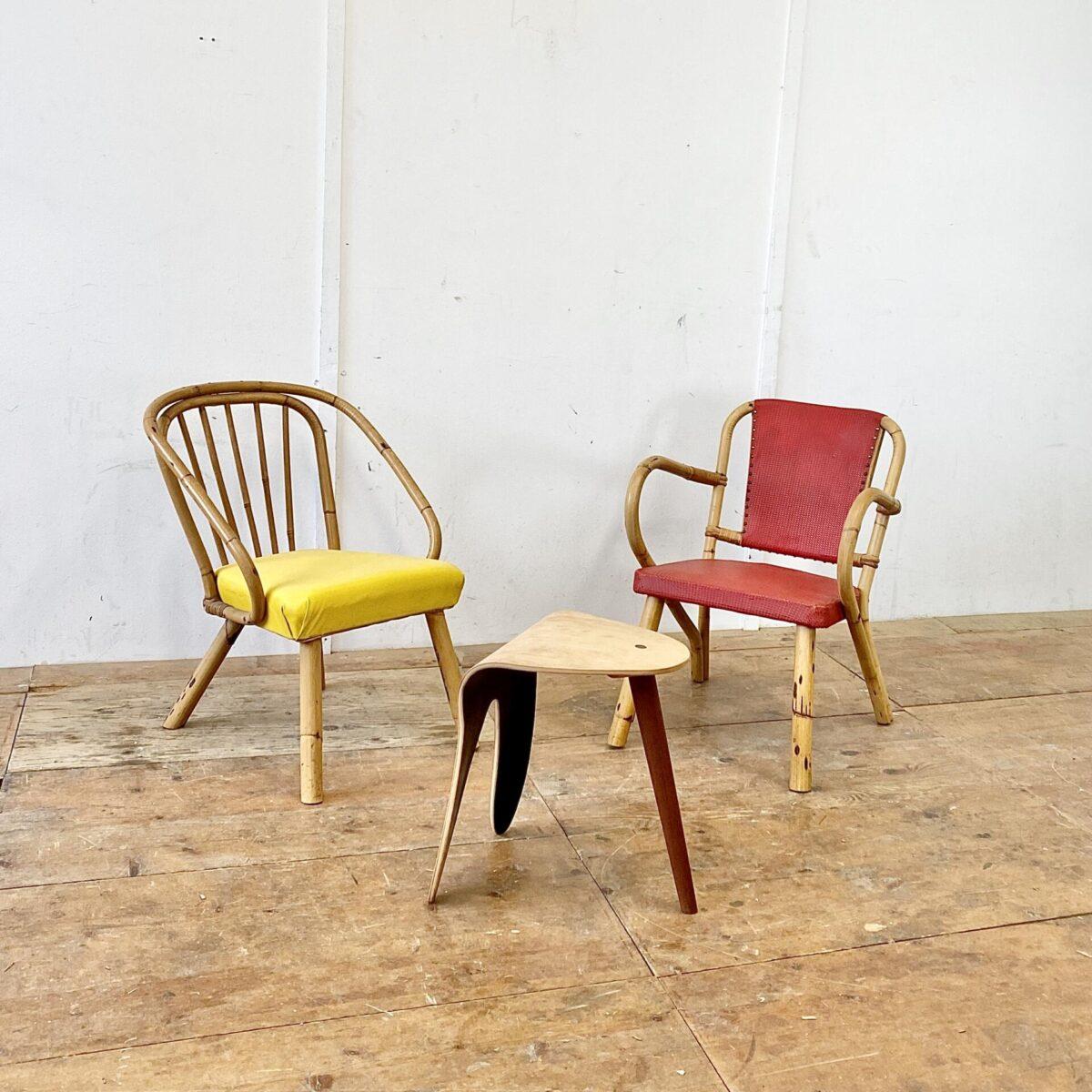 Deuxieme.shop Easy chairs vintage Bambus Cocktail Sessel. Preis pro Stuhl. Sitzhöhe ca. 42cm.
